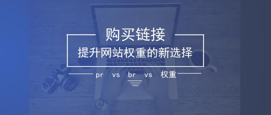 提升网站权重PR的新选择购买链接